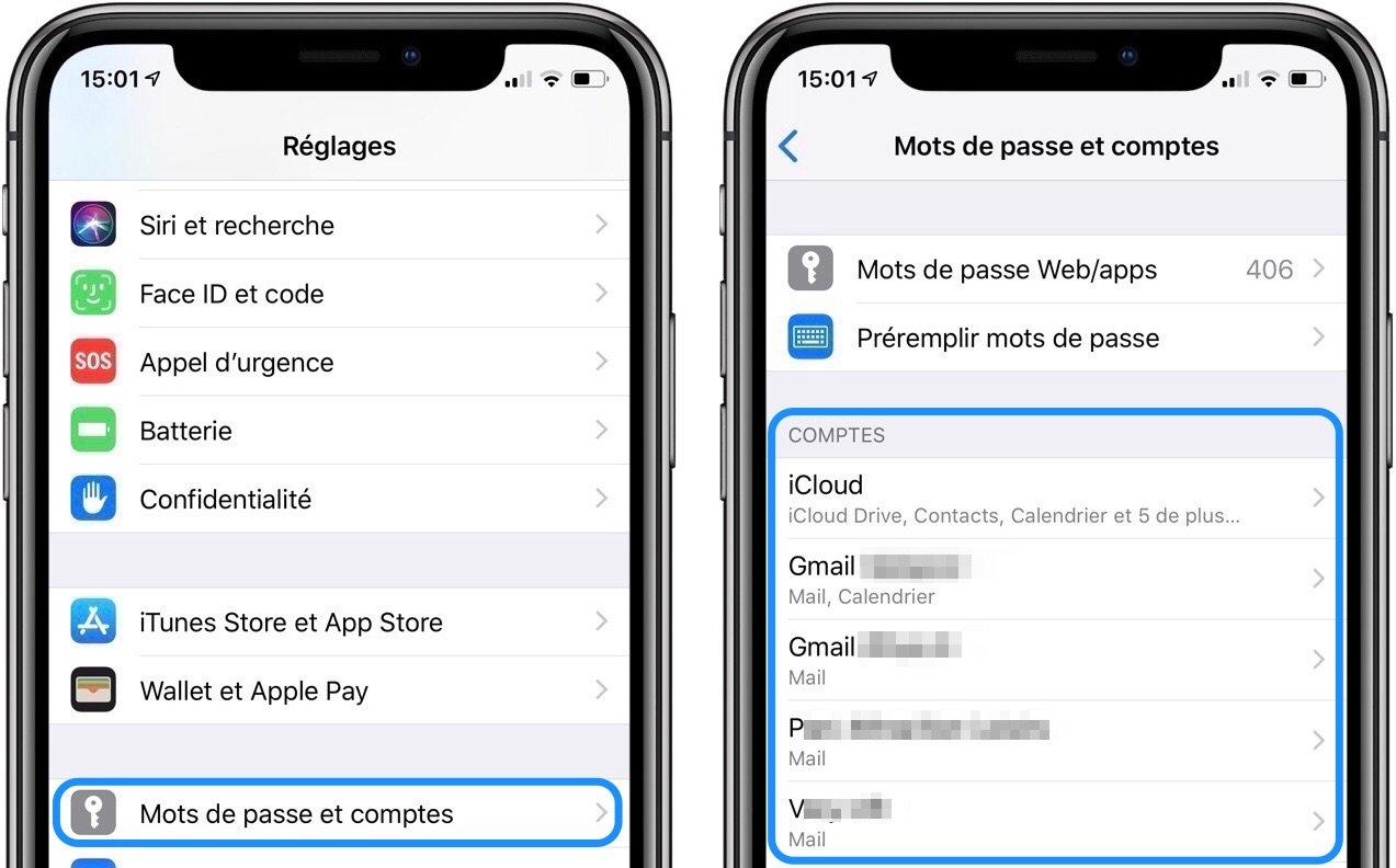 installer gmail sur iphone