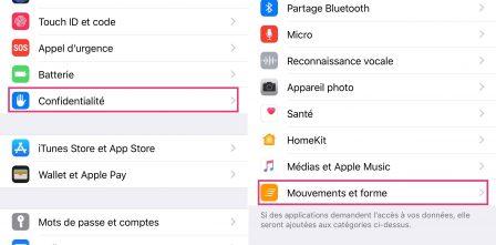 Tutoriel iOS: comment utiliser l'appli Santé pour le comptage des pas, distances et étages, sans accessoire ni appli tierce (Màj 2018) 2