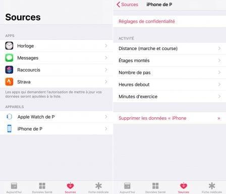 Tutoriel iOS: comment utiliser l'appli Santé pour le comptage des pas, distances et étages, sans accessoire ni appli tierce (Màj 2018) 4