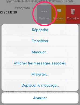5 astuces pratiques pour mieux utiliser les emails sur iPhone et iPad 4