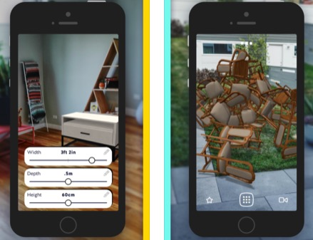 Dossier: plus de 30 apps iPhone et iPad pour profiter de la réalité augmentée ARKit (MàJ) 3