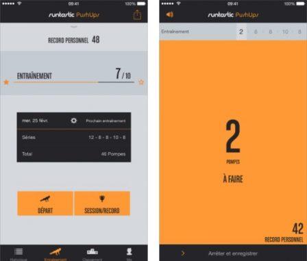 Dossier applis iPhone: 30 apps pour se (re)mettre au sport (suivi GPS, fitness, abdos, cardio, yoga et monitoring quotidien...) 8