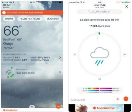Dossier: les applis météo et widgets font la pluie et le beau temps sur iPhone et iPad! 6