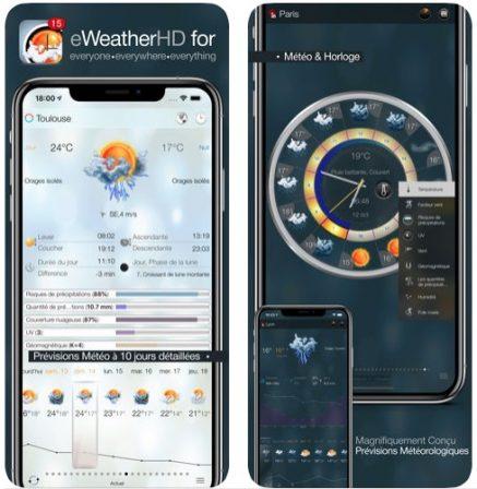 Dossier: les applis météo et widgets font la pluie et le beau temps sur iPhone et iPad! 4