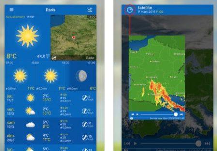 Dossier: les applis météo et widgets font la pluie et le beau temps sur iPhone et iPad! 2
