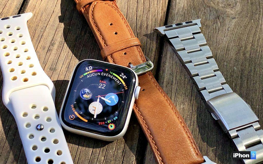 Cuir, sport, maille acier ou classique   8 bracelets (vraiment) pas chers  pour l Apple Watch 42dc6a6567eb