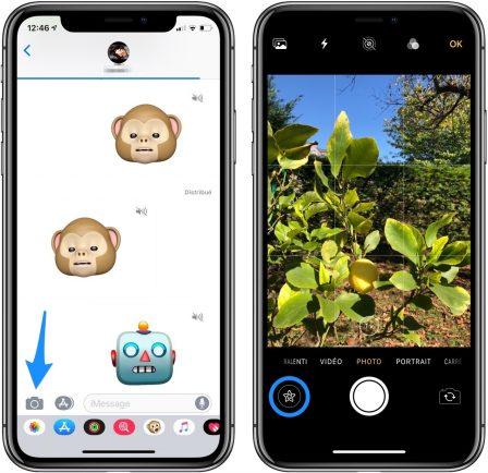 En pratique iOS 12: des outils puissants pour enrichir photos et vidéos avant partage iMessage (vidéo) 2