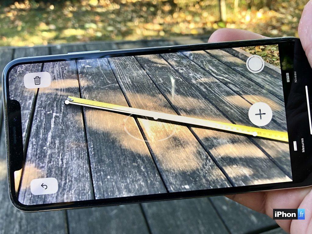 Dmo Et Test Vido De Lappli Mesure DiOS 12 Pour Tout Mesurer En Ralit Augmente