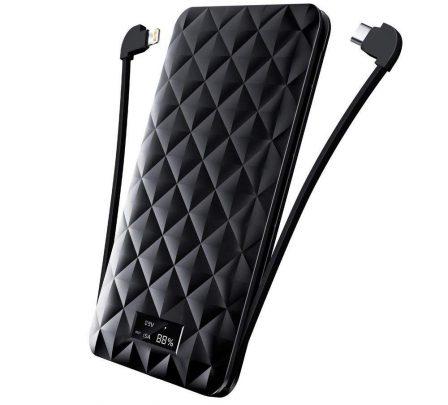 12 batteries avec câble ou prise iPhone intégré, faciles à ranger dans la poche ou le sac (MàJ) 7