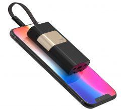 12 batteries avec câble ou prise iPhone intégré, faciles à ranger dans la poche ou le sac (MàJ) 2