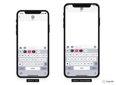 La définition supposée de l'iPhone X «Plus» est déjà largement supportée dans iOS 12: captures 3