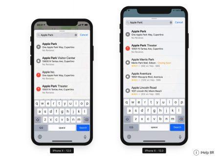 La définition supposée de l'iPhone X «Plus» est déjà largement supportée dans iOS 12: captures 6