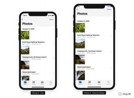 La définition supposée de l'iPhone X «Plus» est déjà largement supportée dans iOS 12: captures 8