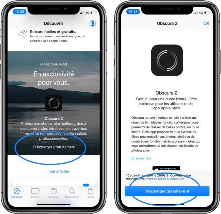 """Bon plan: l'app photo """"Obscura 2"""" est offerte, voici comment l'obtenir gratuitement 2"""