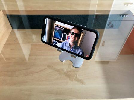 Test du support iPhone et iPad Choetec: alu, pliable et pas cher! 5