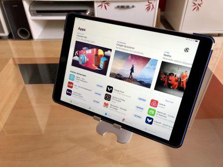 Test du support iPhone et iPad Choetec: alu, pliable et pas cher! 7