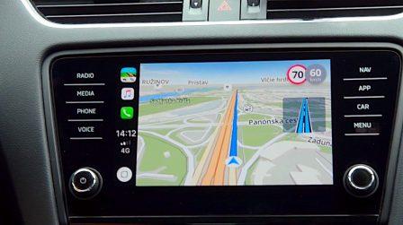 Sygic montre son guidage GPS compatible CarPlay en vidéo 2