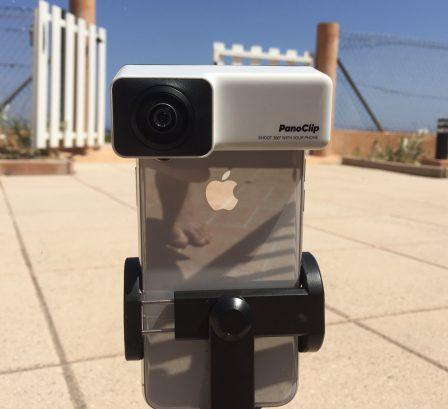 Test Panoclip: la photo 360 degrés sur iPhone grâce à un accessoire malin et peu couteux 9