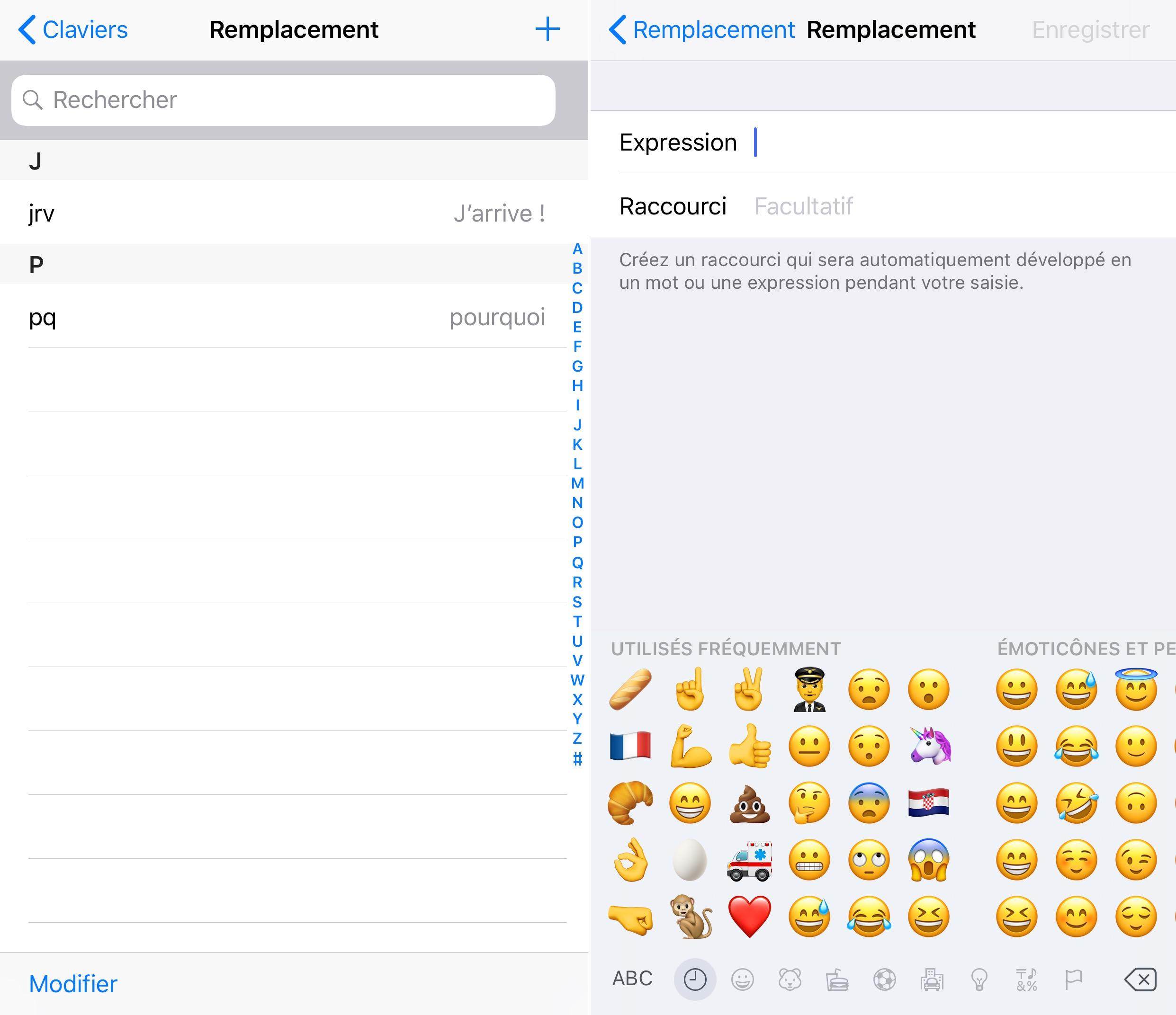 Astuce Ios Comment Creer Ses Propres Raccourcis Pour Inserer Un Emoji Sur Iphone Et Ipad