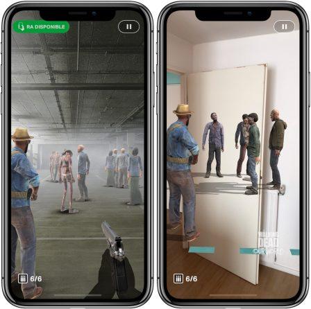 """Les zombies de """"The Walking Dead: Our World"""" débarquent sur iPhone façon Pokémon GO 3"""