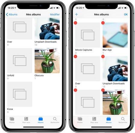 Des albums photos impossibles à supprimer sur iPhone ou iPad? Tout ce qu'il faut savoir sur le sujet 2