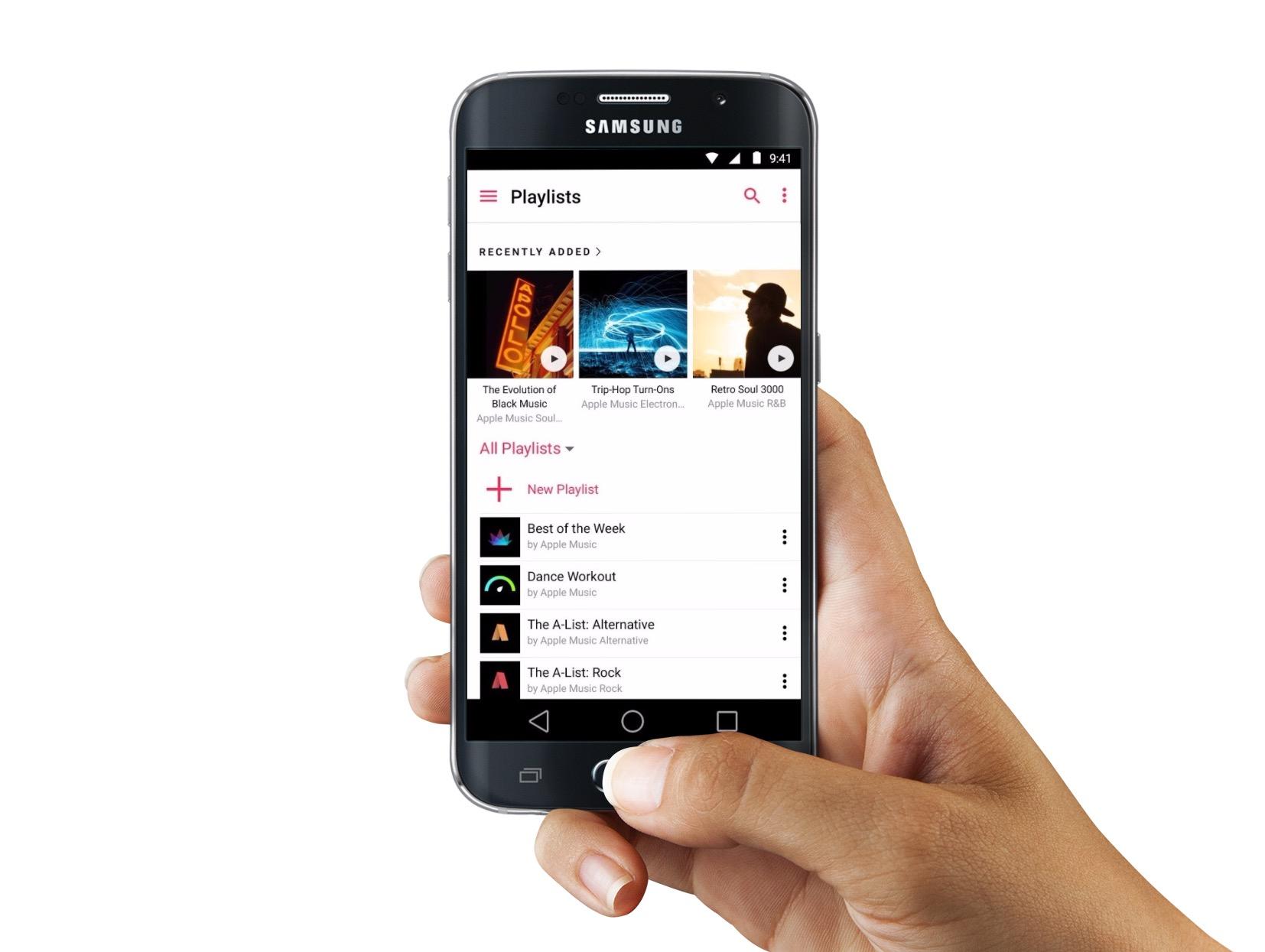l app apple music a droit des nouveaut s sur android et android auto iphone x 8 ipad et. Black Bedroom Furniture Sets. Home Design Ideas