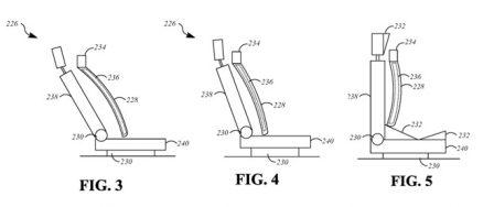 """Toit coulissant, sièges """"haptiques"""" : Apple dépose brevet sur brevet autour de l'auto 3"""