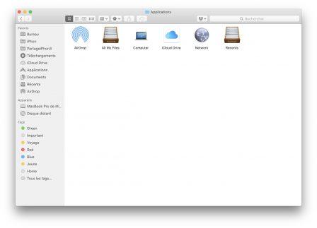 En pratique: comment ajouter un raccourci vers AirDrop dans le dock Mac 4