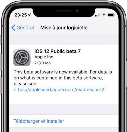 MàJ beta publique disponible: Apple sort la nouvelle Beta iOS 12, watchOS 5, tvOS 12 et MacOS Mojave 3