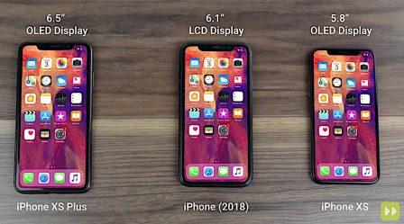 Les trois tailles d'iPhone X 2018 refont le show en vidéo: faites votre choix! 2