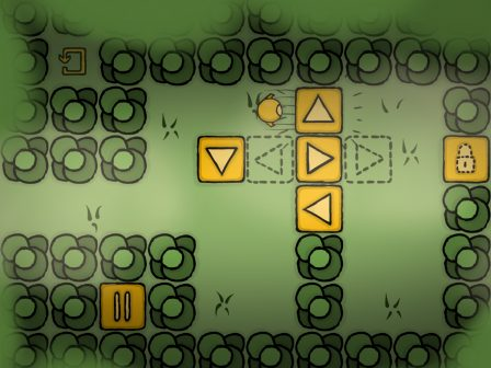 Logique et adresse nécessaires pour résoudre les casse-têtes malins de One More Button, sur iPhone, iPad 2