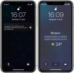 Avec iOS 12, l'iPhone affiche la météo du jour au réveil: voici comment l'activer (Màj) 2