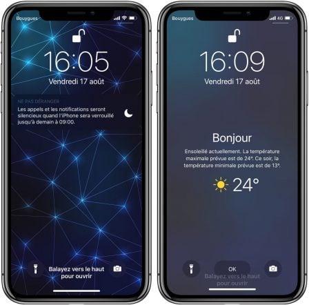 Avec iOS 12, l'iPhone affiche la météo du jour au réveil: voici comment l'activer (Màj) 5
