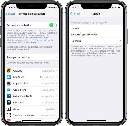 Avec iOS 12, l'iPhone affiche la météo du jour au réveil: voici comment l'activer (Màj) 4