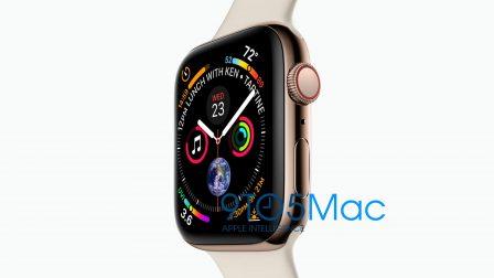 Premières images de l'iPhone XS, XS Plus et de la nouvelle Apple Watch 4 3