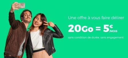 Dernier jour - Promos forfaits B&You et SFR Red prolongées: illimité + 20 Go à 5€ mensuels (MàJ) 3
