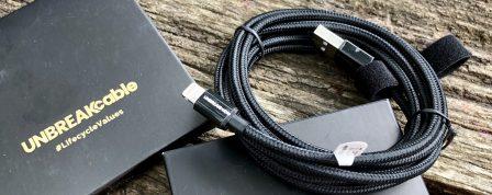 """Test du câble """"tissé"""" iPhone et iPad signé UNBREAKCable  (avec codes promos inside pour cable et protections écrans verre trempé) 2"""