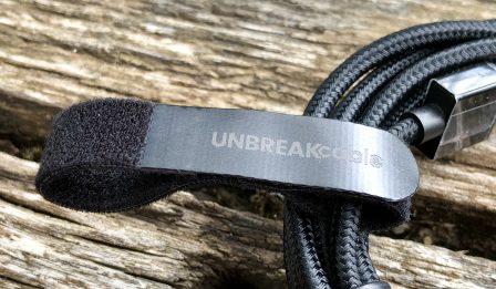 """Test du câble """"tissé"""" iPhone et iPad signé UNBREAKCable  (avec codes promos inside pour cable et protections écrans verre trempé) 5"""