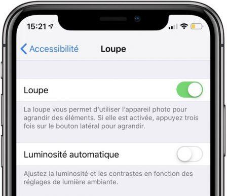 Astuce iOS: comment activer le mode loupe sur iPhone et iPad! 1