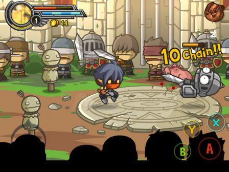 Des coups, du sang et des flammes, Wonder Blade ne fait pas dans la dentelle sur iOS. On a testé ! (Màj: support des manettes MFi) 4