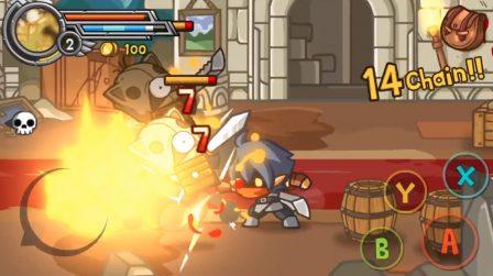 Des coups, du sang et des flammes, Wonder Blade ne fait pas dans la dentelle sur iOS. On a testé ! (Màj: support des manettes MFi) 3