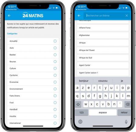 """Nouvelle app d'info en continu: """"24matins"""" iPhone vous fait gagner un iPhone XS, découvrez comment participer! 3"""