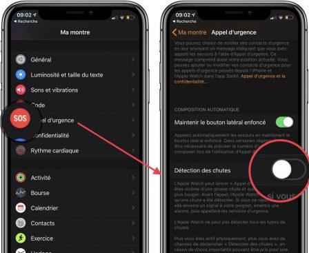 Apple Watch Séries 4: comment activer la détection des chutes, fonctionnement et premiers tests 3