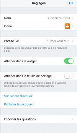 """En pratique iOS 12: comment développer son premier """"Raccourci"""" sur iPhone ou iPad, vidéo et exemple à télécharger (Partie 2) 6"""