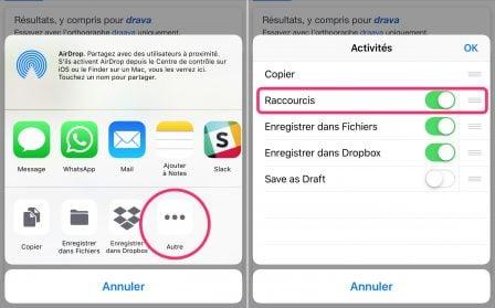"""Débuter avec """"Raccourcis"""" d'iOS 12: premiers pas, appli, utilisation sans Siri sur iPhone et iPad (Partie 1) 10"""
