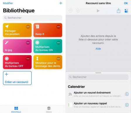 """En pratique iOS 12: comment développer son premier """"Raccourci"""" sur iPhone ou iPad, vidéo et exemple à télécharger (Partie 2) 2"""