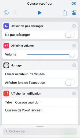 """En pratique iOS 12: comment développer son premier """"Raccourci"""" sur iPhone ou iPad, vidéo et exemple à télécharger (Partie 2) 10"""