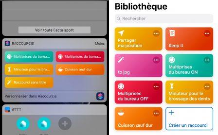 """En pratique iOS 12: comment développer son premier """"Raccourci"""" sur iPhone ou iPad, vidéo et exemple à télécharger (Partie 2) 13"""