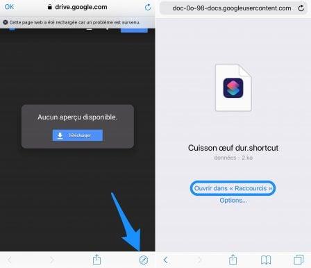 """En pratique iOS 12: comment développer son premier """"Raccourci"""" sur iPhone ou iPad, vidéo et exemple à télécharger (Partie 2) 14"""