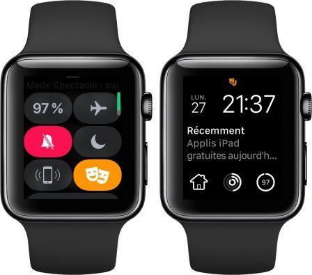 Apple Watch: découvrez les possibilités et nouveautés du centre de contrôle version watchOS 5 8